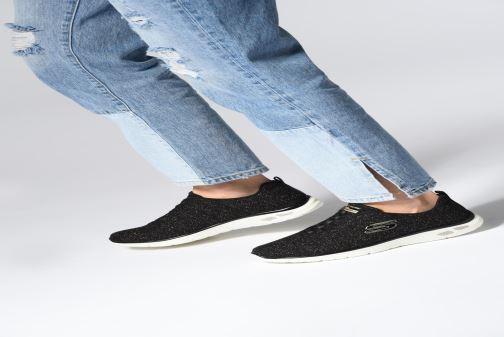 Zapatillas de deporte Skechers Empire D'Lux Negro vista de abajo