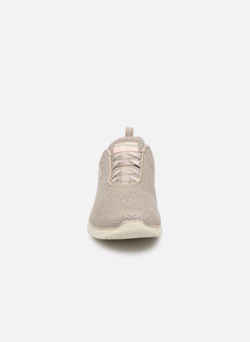 Zapatillas de deporte Skechers Empire D'Lux Gris vista del modelo