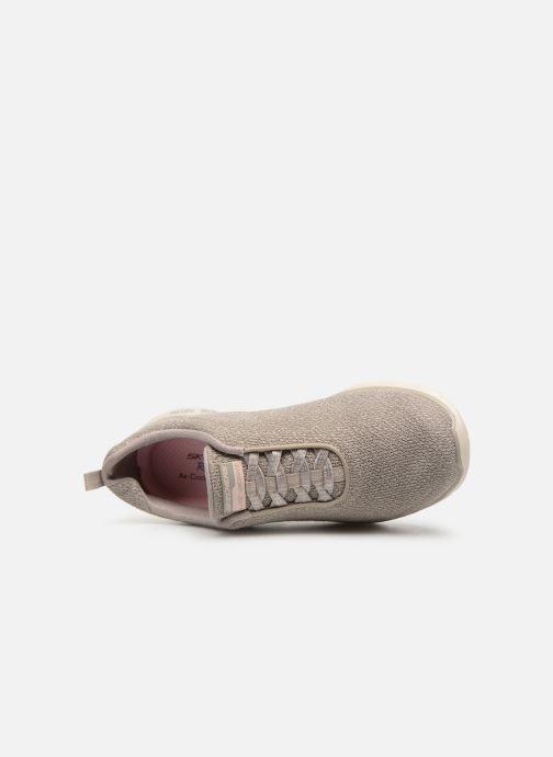 Zapatillas de deporte Skechers Empire D'Lux Gris vista lateral izquierda