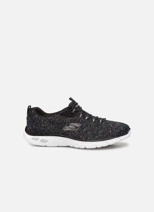 Chaussures de sport Skechers Empire D'Lux Noir vue derrière