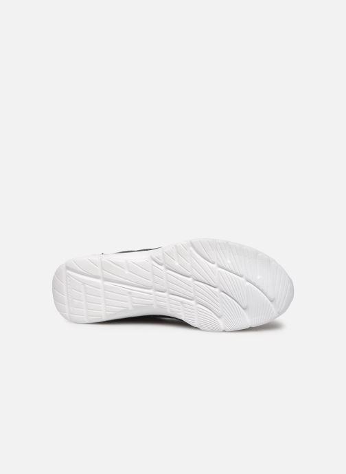 Chaussures de sport Skechers Empire D'Lux Noir vue haut