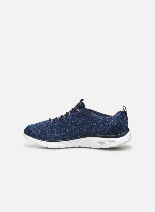 Chaussures de sport Skechers Empire D'Lux Bleu vue face