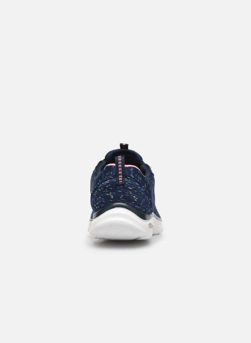 Chaussures de sport Skechers Empire D'Lux Bleu vue droite