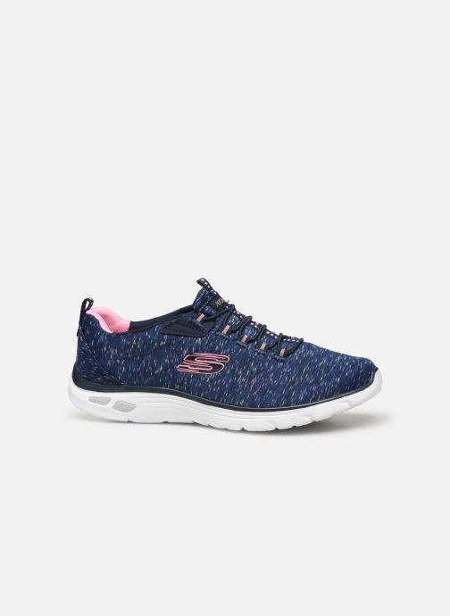 Chaussures de sport Skechers Empire D'Lux Bleu vue derrière