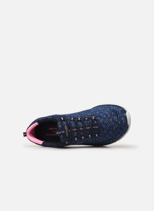 Scarpe sportive Skechers Empire D'Lux Azzurro immagine sinistra