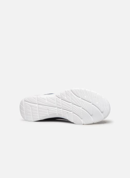 Chaussures de sport Skechers Empire D'Lux Bleu vue haut