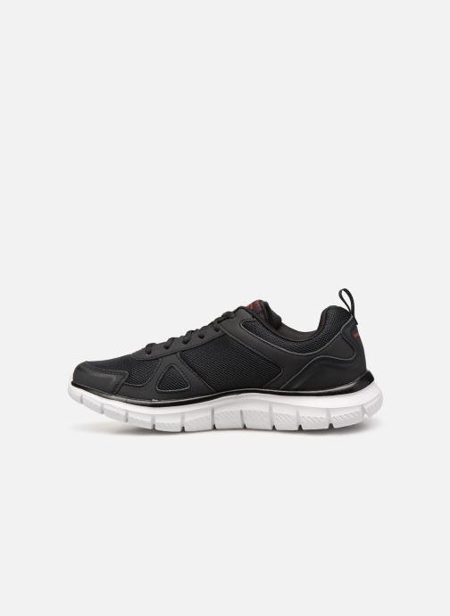 Sneaker Skechers Track Scloric schwarz ansicht von vorne