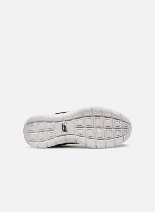 Sneaker Skechers Track Scloric schwarz ansicht von oben