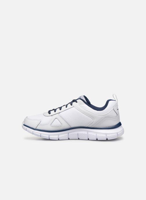Sneaker Skechers Track Scloric weiß ansicht von vorne