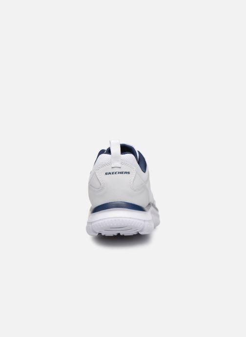 Sneaker Skechers Track Scloric weiß ansicht von rechts