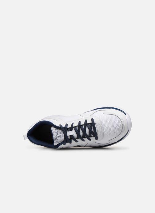 Sneaker Skechers Track Scloric weiß ansicht von links