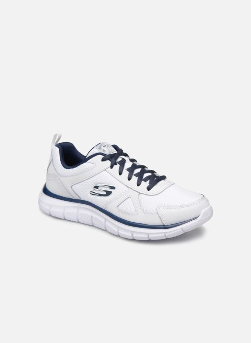 Trainers Skechers Track Scloric White detailed view/ Pair view