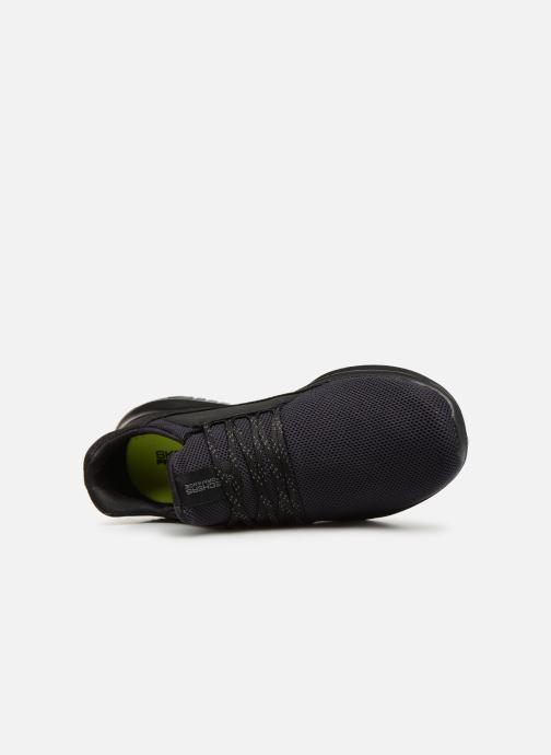 Baskets Skechers Go Run Mojo Verve Noir vue gauche