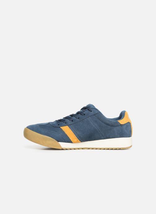 Sneaker Skechers Zinger Wildview blau ansicht von vorne