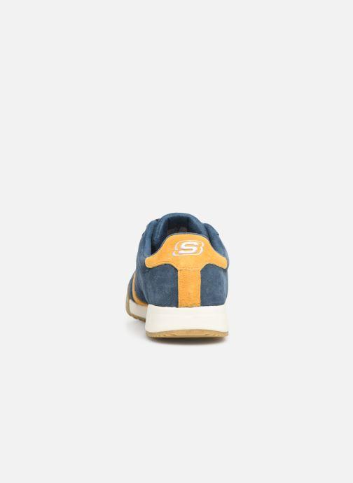 Sneaker Skechers Zinger Wildview blau ansicht von rechts