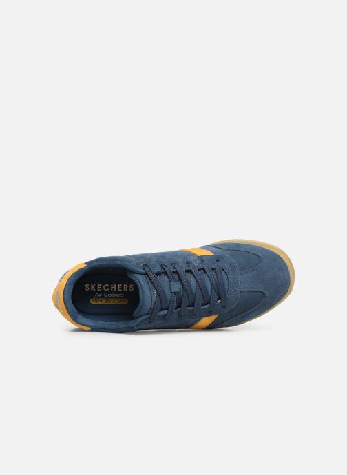Sneaker Skechers Zinger Wildview blau ansicht von links