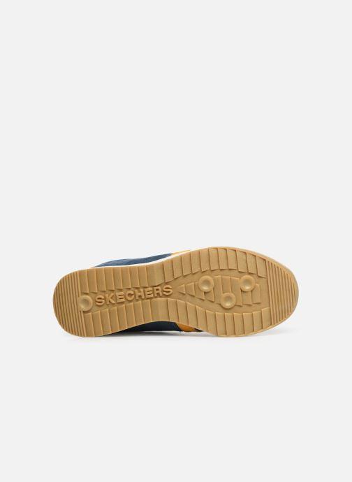 Sneaker Skechers Zinger Wildview blau ansicht von oben