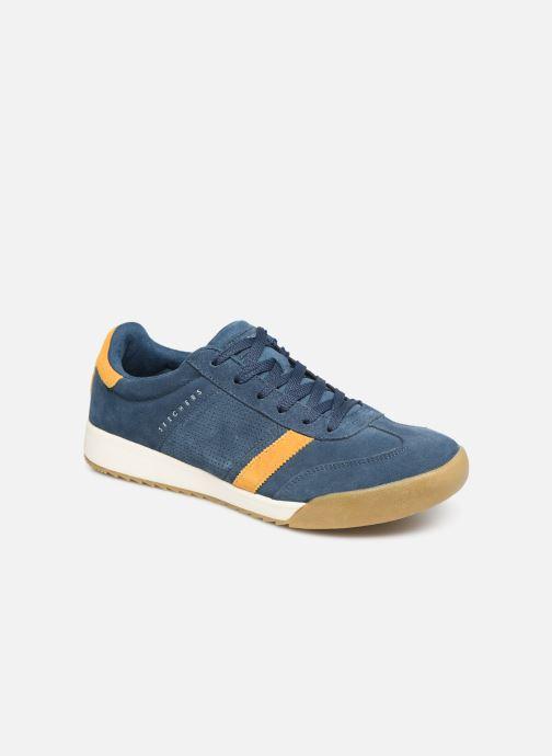 Sneaker Skechers Zinger Wildview blau detaillierte ansicht/modell