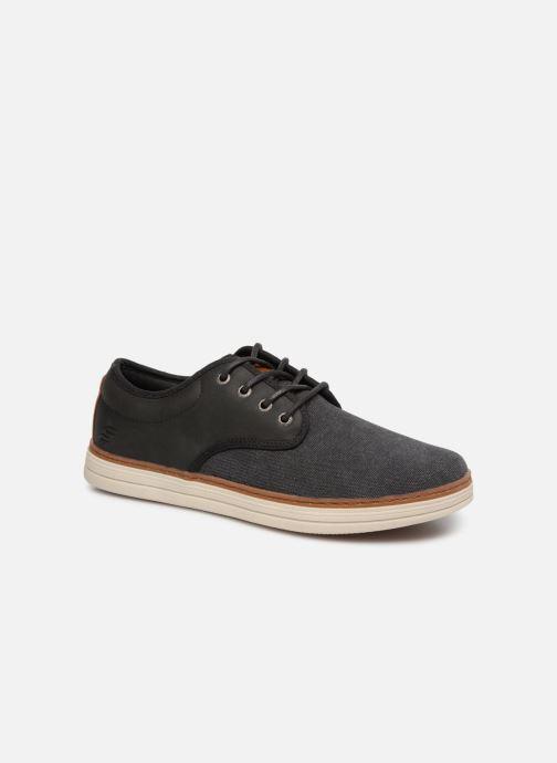 Sneakers Skechers Heston Santano Zwart detail