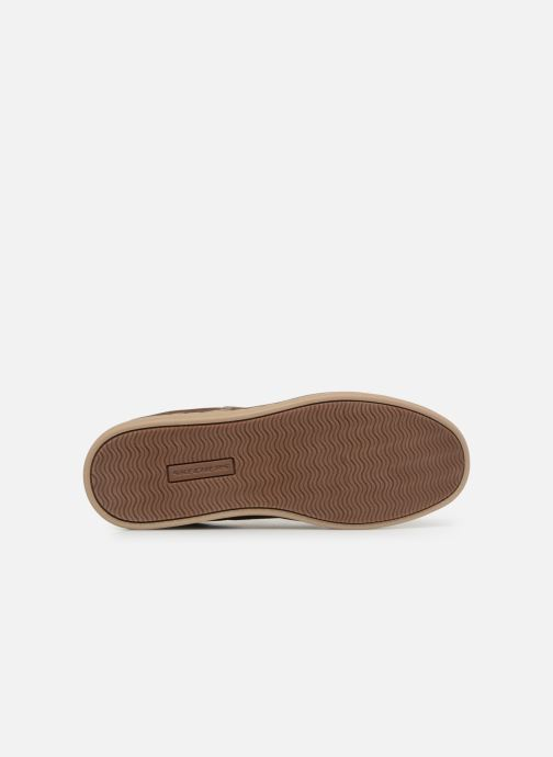 Trainers Skechers Heston Santano Beige view from above