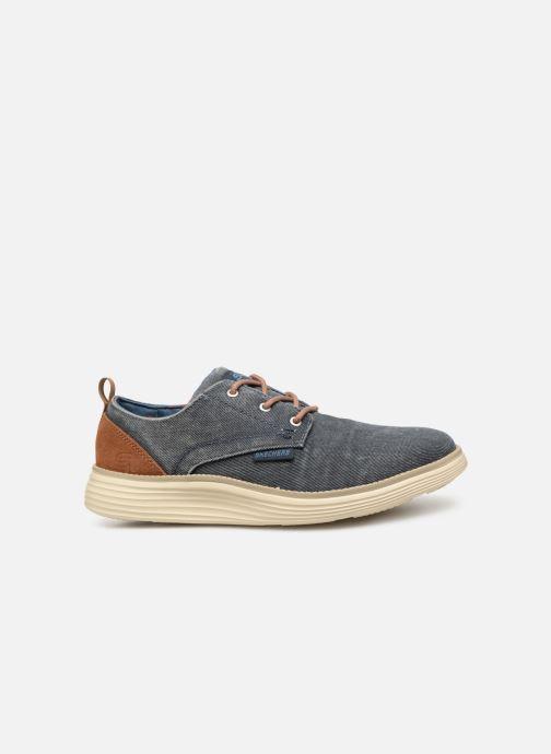 Zapatos con cordones Skechers Status 2.0 Pexton Azul vistra trasera