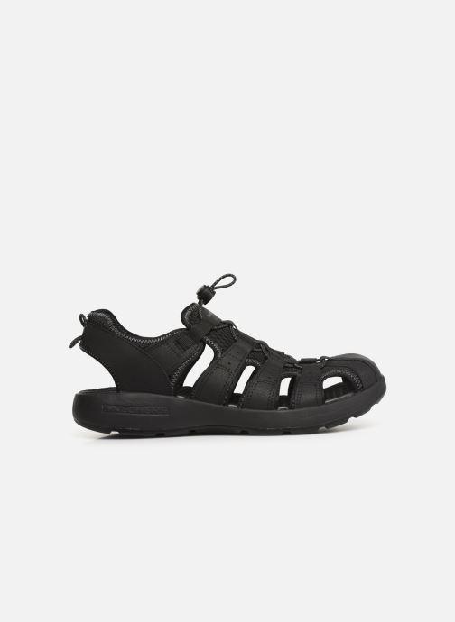Sandales et nu-pieds Skechers Melbo Journeyman 2 Noir vue derrière