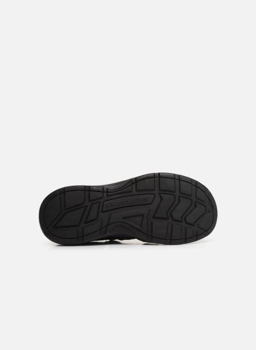 Sandalen Skechers Melbo Journeyman 2 schwarz ansicht von oben