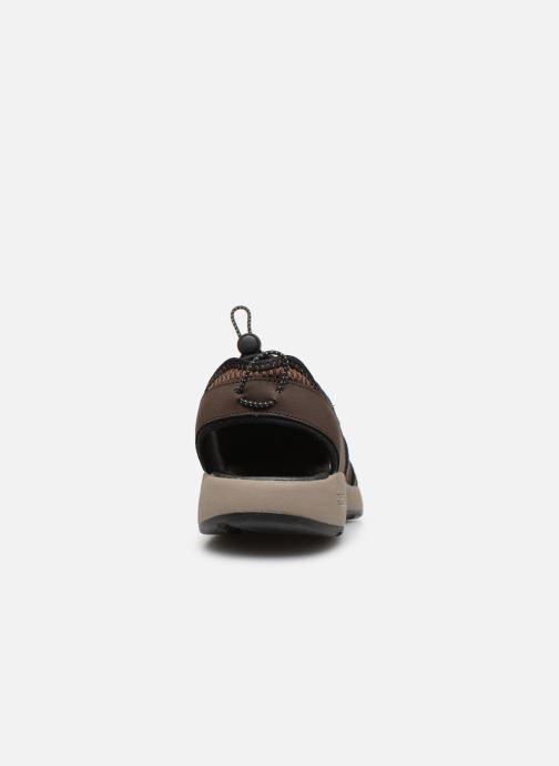 Sandales et nu-pieds Skechers Melbo Journeyman 2 Marron vue droite