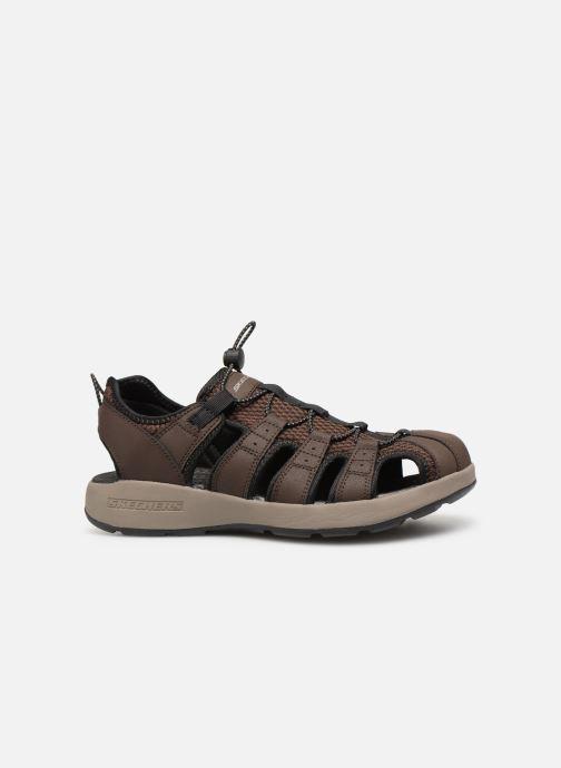 Sandales et nu-pieds Skechers Melbo Journeyman 2 Marron vue derrière