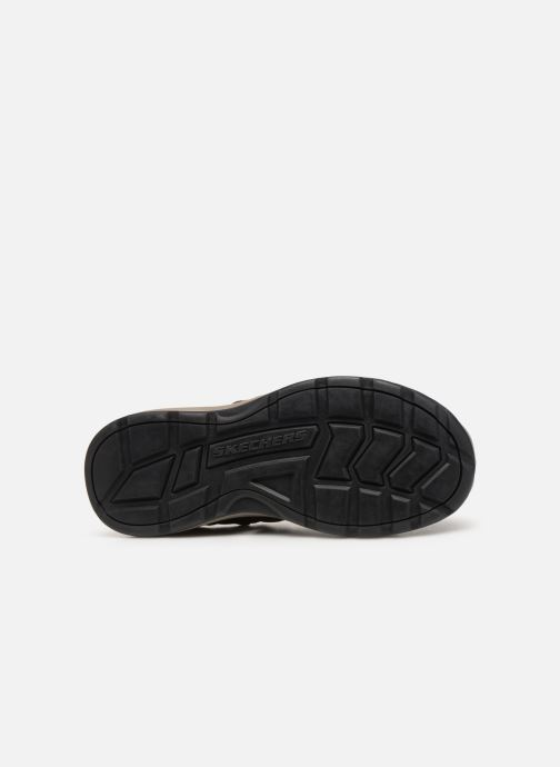Sandales et nu-pieds Skechers Melbo Journeyman 2 Marron vue haut