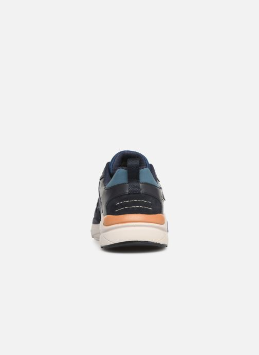 Trainers Skechers Verrado Brogen Blue view from the right