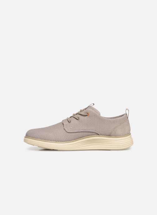 Sneaker Skechers Status 2.0 Menic beige ansicht von vorne