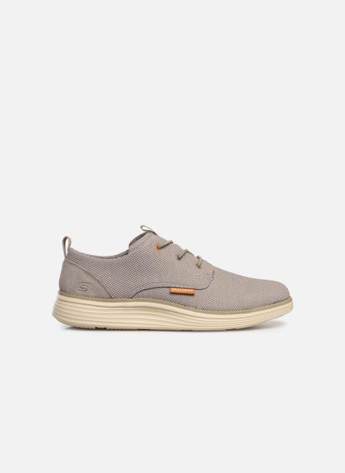 Sneaker Skechers Status 2.0 Menic beige ansicht von hinten