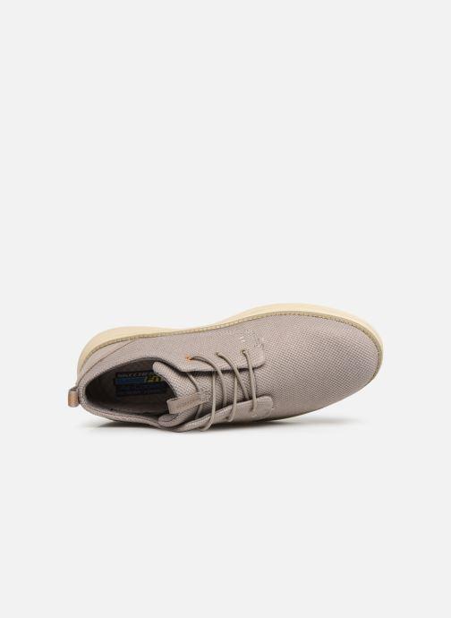 Sneaker Skechers Status 2.0 Menic beige ansicht von links