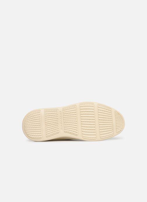 Sneaker Skechers Status 2.0 Menic beige ansicht von oben
