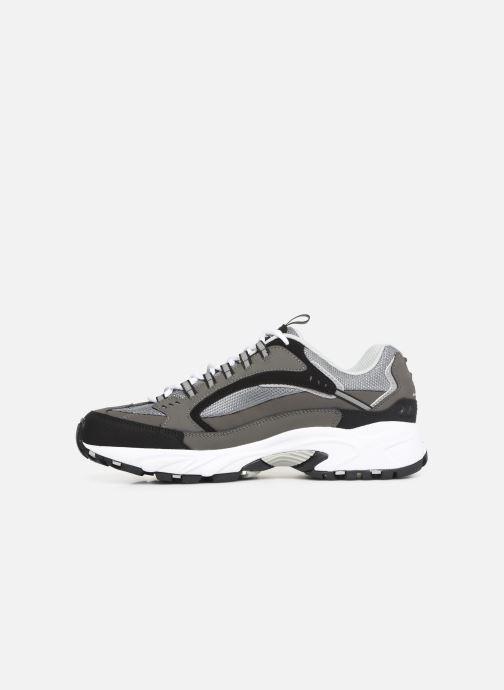Sneaker Skechers Stamina grau ansicht von vorne
