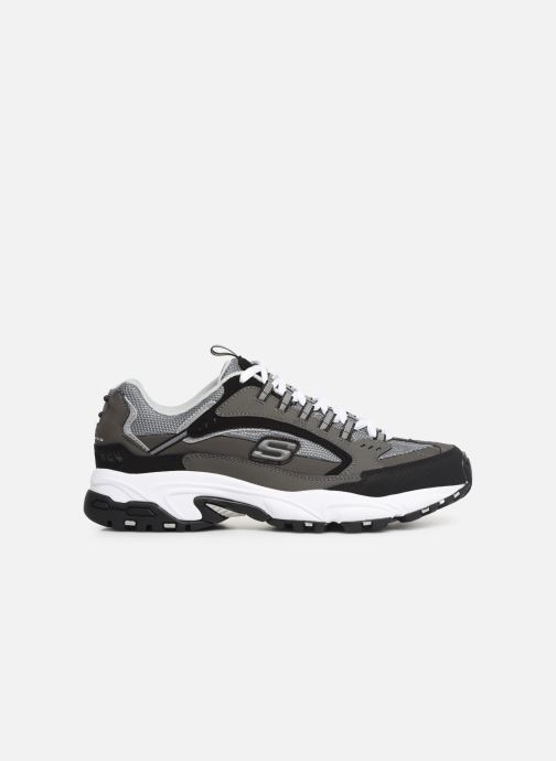 Trainers Skechers Stamina Grey back view
