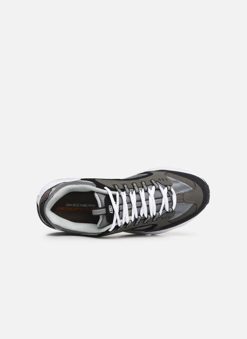 Sneaker Skechers Stamina grau ansicht von links