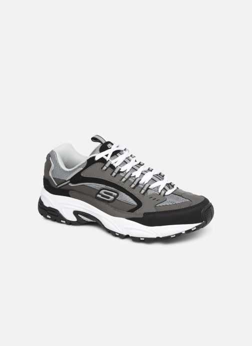 Trainers Skechers Stamina Grey detailed view/ Pair view