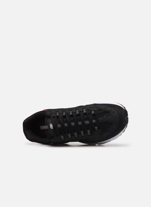 Baskets Skechers Stamina Noir vue gauche