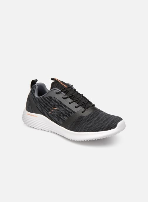 Trainers Skechers Bounder Black detailed view/ Pair view