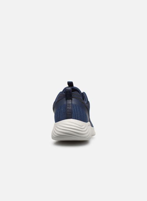 Sneaker Skechers Bounder blau ansicht von rechts