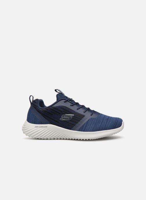 Sneaker Skechers Bounder blau ansicht von hinten