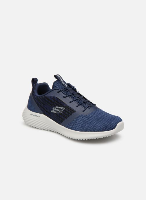 Trainers Skechers Bounder Blue detailed view/ Pair view