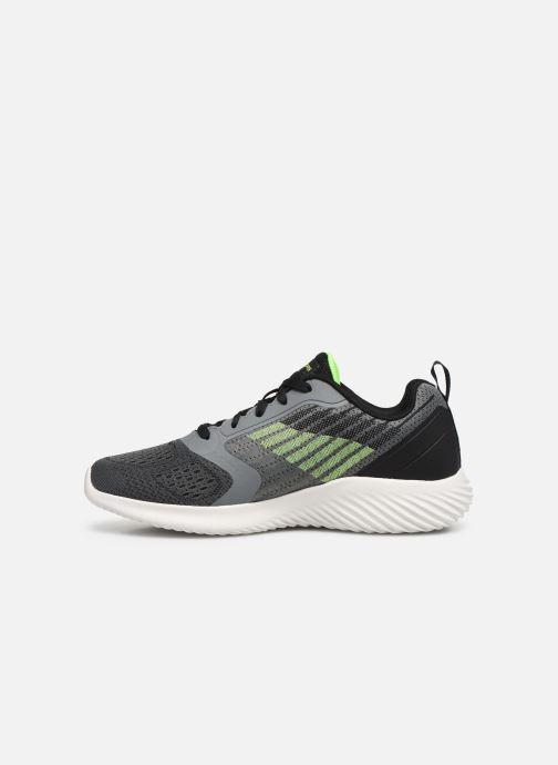 Sneaker Skechers Bounder grau ansicht von vorne