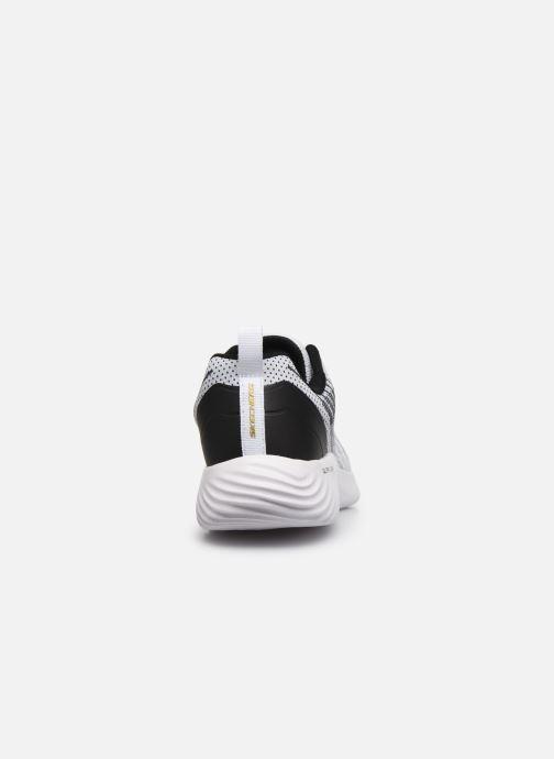 Sneaker Skechers Bounder weiß ansicht von rechts