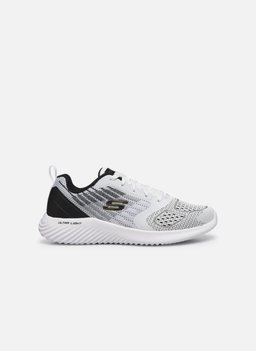 Trainers Skechers Bounder White back view