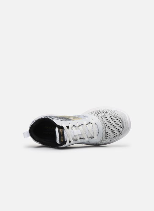 Trainers Skechers Bounder White view from the left