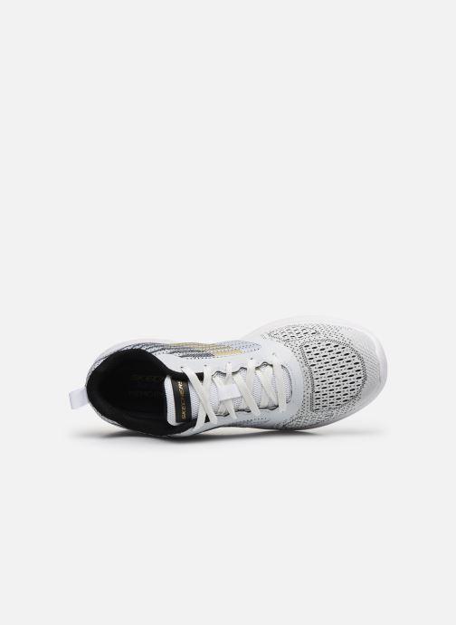 Sneaker Skechers Bounder weiß ansicht von links