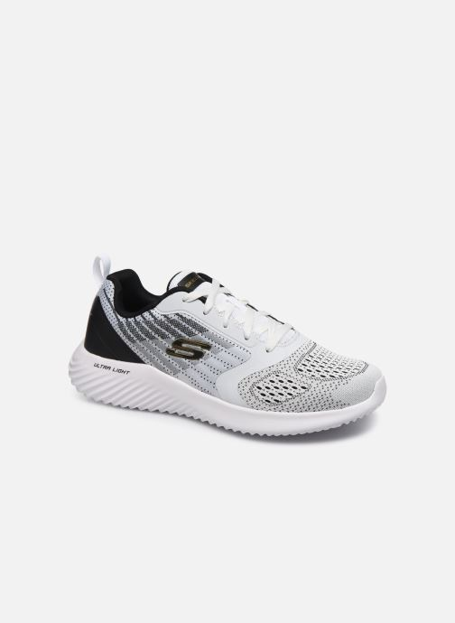 Trainers Skechers Bounder White detailed view/ Pair view